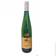 CAVES MEYER THUET RIESLING MEDAILLE D'OR 2016 BLANC 75cl